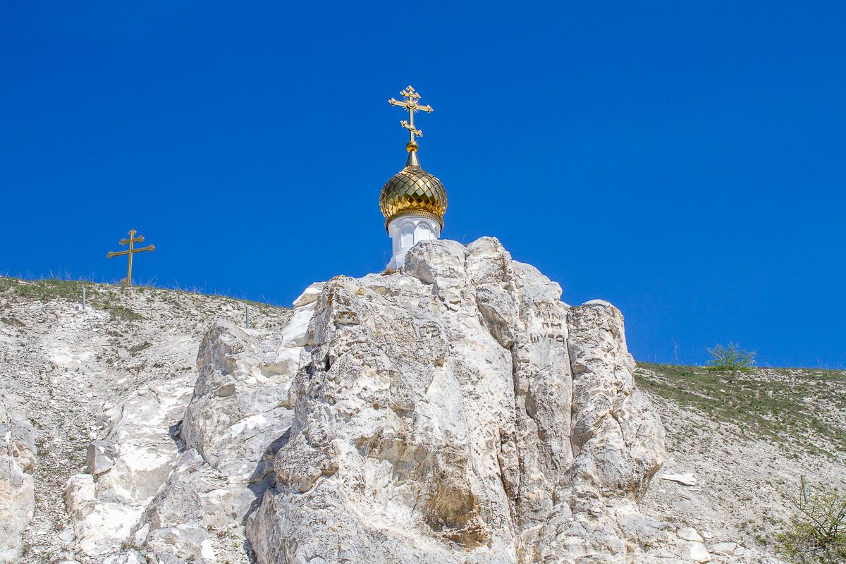 Пещерная церковь Дивногорского Свято-Успенского мужского монастыря фото 7