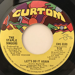 THE SATPLE SINGERS:LET'S DO IT AGAIN(LABEL SIDE-A)