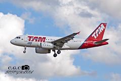 PT-TMA A319 #4000