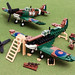 Lego Spitfire Mk.II Build by Dread Pirate Wesley