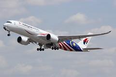 A350 9M-MAF London Heathrow 15.06.18