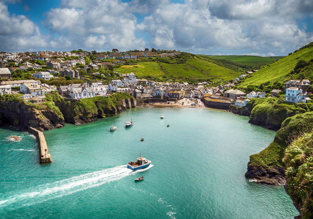 Port Isaac, Cornwall. Credit Bob Radlinski, flickr