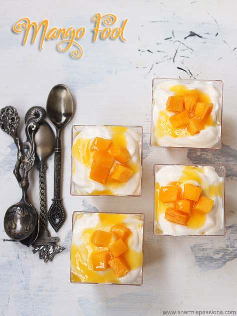 mango fool recipe