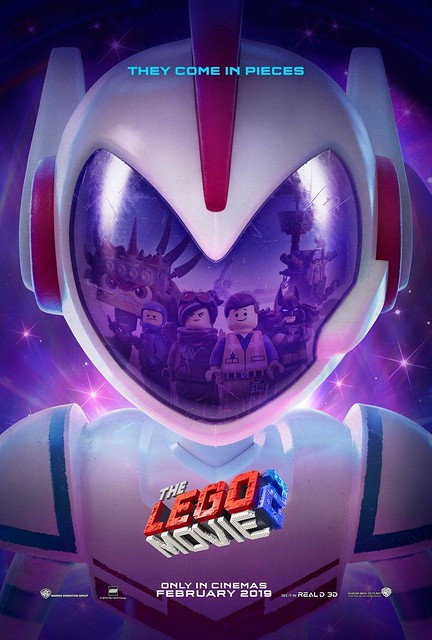 "The LEGO Movie 2 Poster Warns ""They Come In Pieces"