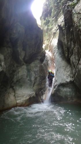 Vildes canyon, Gjinari, Albania