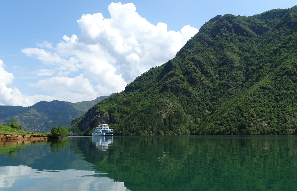 Scenery on Lake Komani - Northern Albania - 05