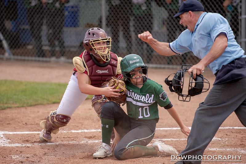 St. Joseph vs. Griswald High - High School Softball