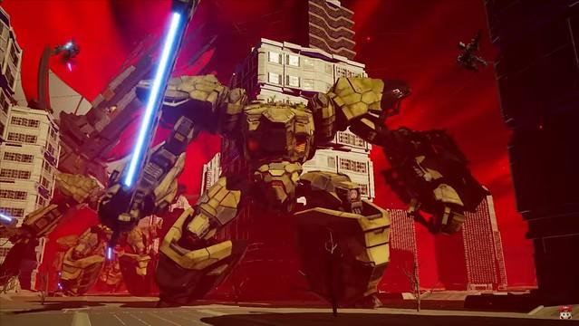 Daemon X Machina - Mechs combattant de plus gros Mechs