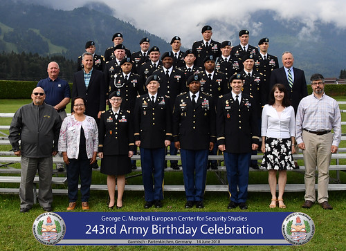 Marshall Center celebrates 243rdth Army Birthday