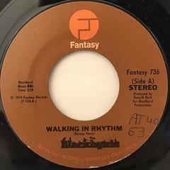 THE BLACKBYRDS:WALKIN IN RHYTHM(LABEL SIDE-A)