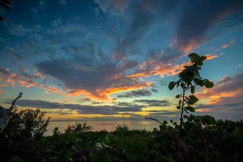 beach sunset water ocean gulf florida floridasunset beachsunset gulfsunset hdr beautiful sun