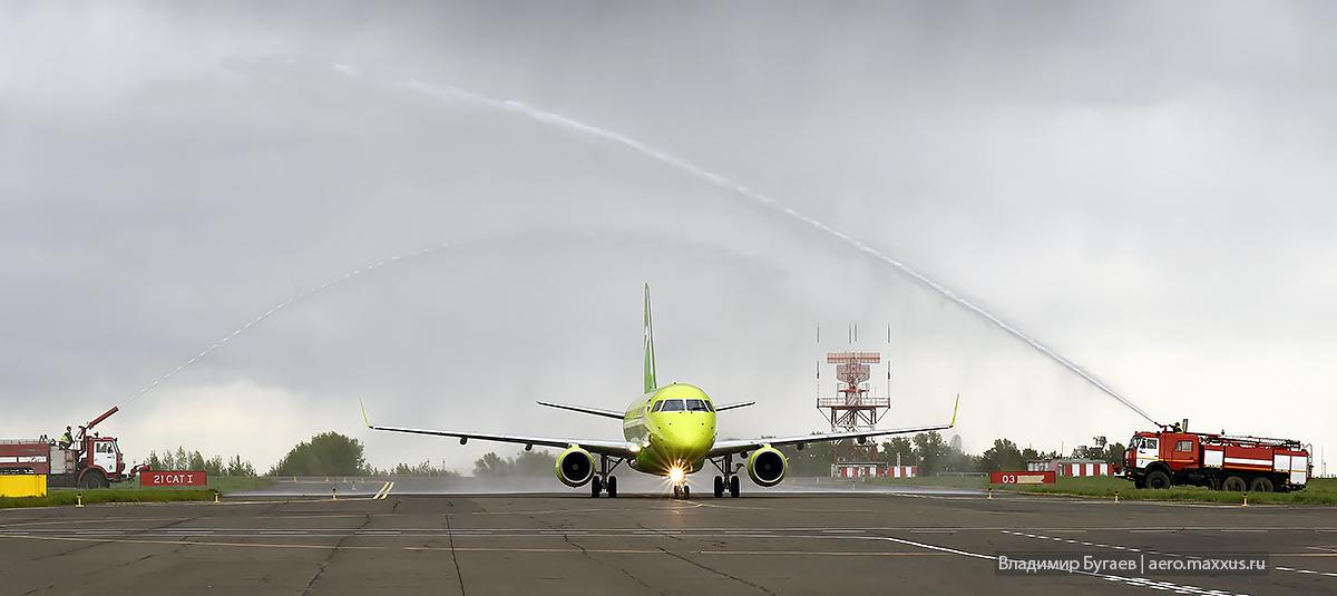 Novosibirsk — Tokyo Narita. S7 Airlines. Photo by Vladimir Bugaev