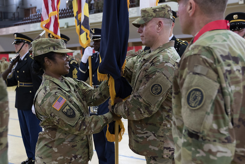 Maryland Army National Guard Change of Command and Responsibility