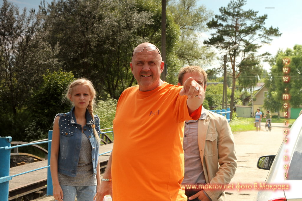 Фотографии режиссера - актера - Ивана Щёголева, за работой сериал морозова