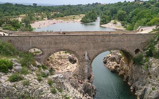 Pont du Diable (11. Jh.) über den Hérault