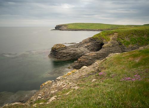 cliffs kilkee clare longexposure olympus coast ireland atlantic ocean morning