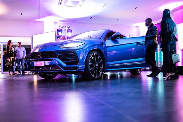 Lamborghini Chelmsford Opening Night
