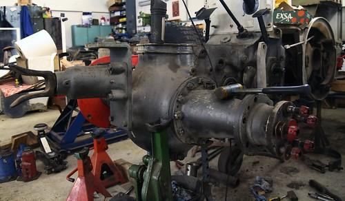 Oldie-Werkstatt - Motor; Linden, Dithmarschen (104)