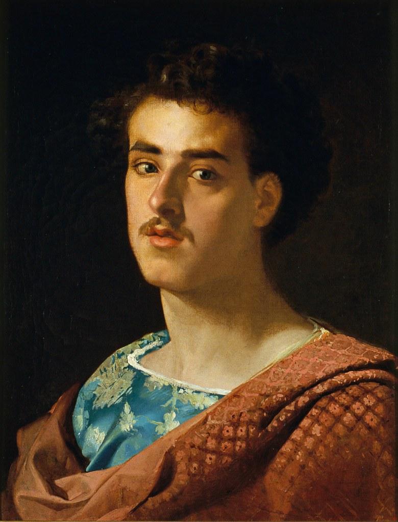 Marià Fortuny - Self-portrait (c.1858)