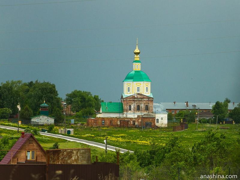 Церкви Богоявления Господня и Зачатия Иоанна Предтечи в селе Гавриловское