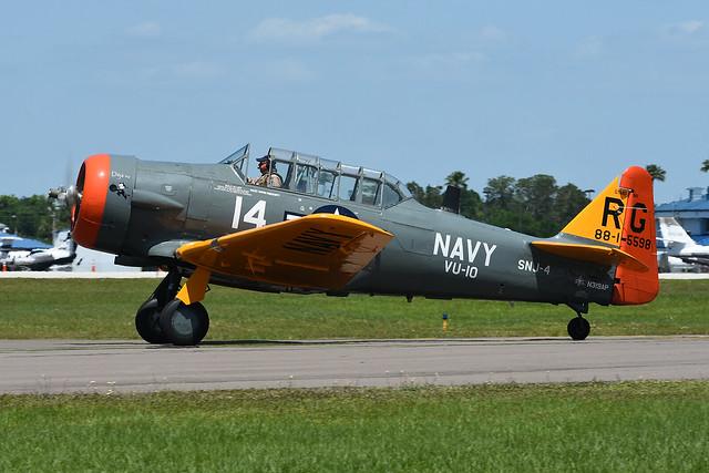 N319AP North American SNJ-4 Texan KLAL 12-04-18
