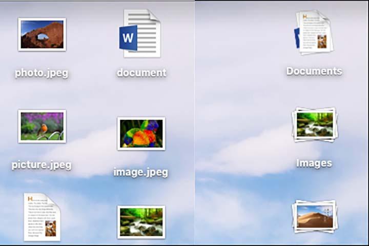 Toàn tập về tính năng Stacks trên macOS 10.14 Mojave