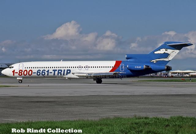 Greyhound Airlines B727-227/Advanced C-GLKF