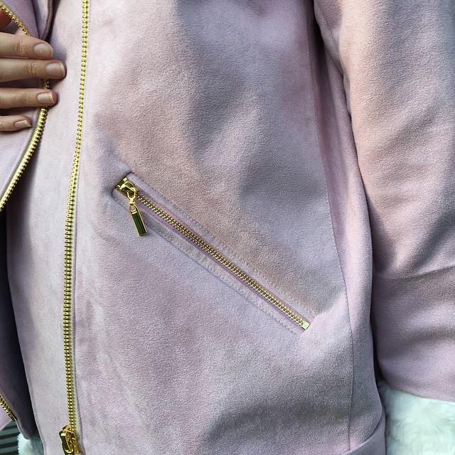 Style Arc Carly Aviator jacket