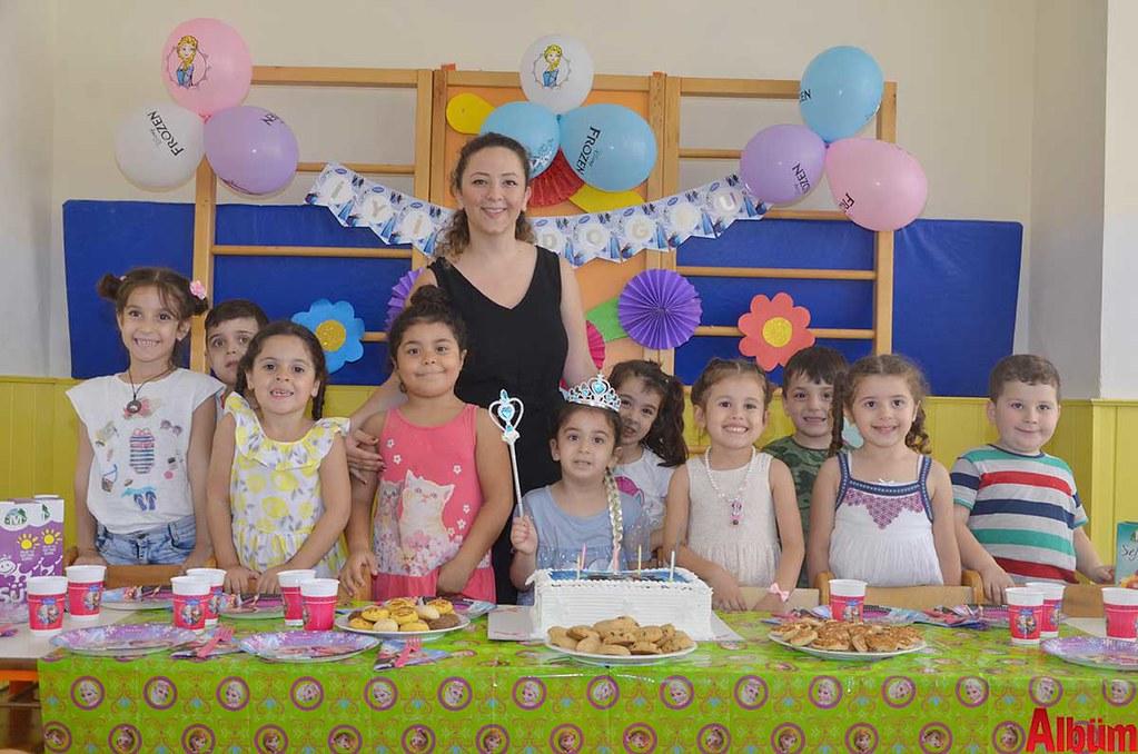 Ekim Yuva'da renkli doğum günü