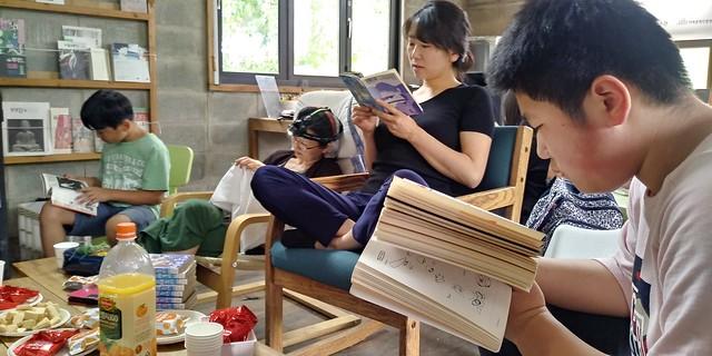 내아이책읽어주기 학부모 동아리 | 탑골만화방
