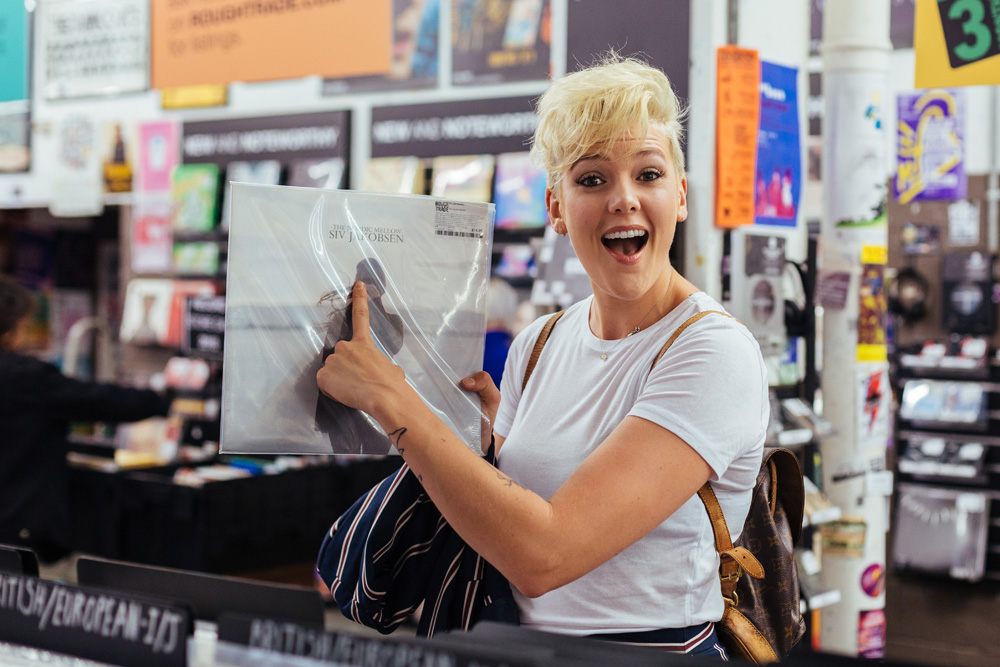 Record Shopping With... Betty Who