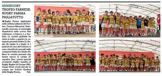 Gazzetta di Parma 08.06.18 - Trofeo Quintavalla