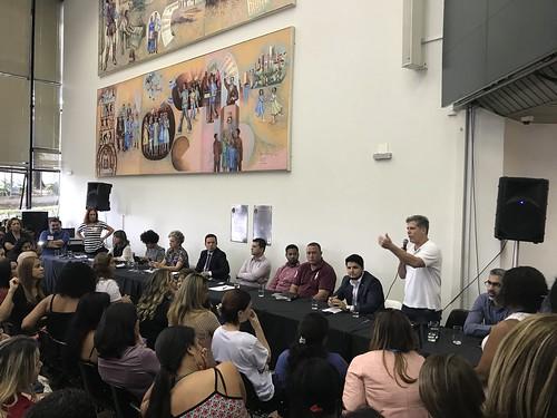 Audiência pública para discutir o plano de carreira dos professores da educação infantil da rede municipal - Comissão de Educação, Ciência, Tecnologia, Cultura, Desporto, Lazer e Turismo