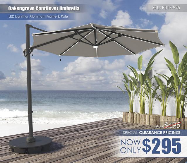 Oakengrove Umbrella_CLEARANCE_P017-995