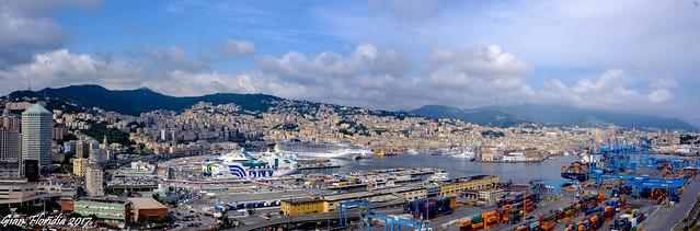 Genova mia città intera...