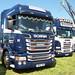 Halder and Sons Scania R450 YN15LWS Peterborough Truckfest 2018