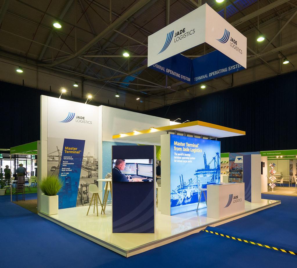 Exhibition Stand Logistics : Jade logistics group ltd exhibition stand toc europe 201u2026 flickr