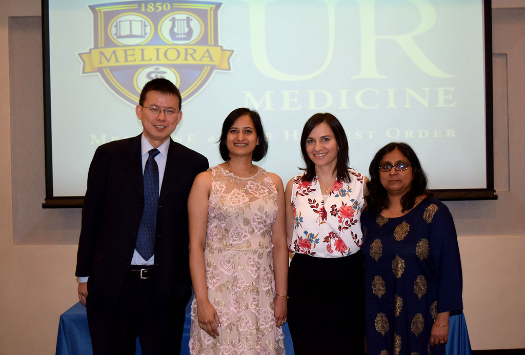 URMC's departing Pathology residents and fellows were recognized at the annual graduation and awards ceremony held at City Grill on June 14, 2018.