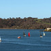 Sailing in Plymouth Sound 8th April 2018