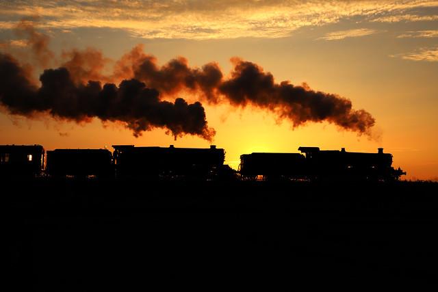 Steam silhouette