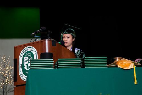 Charity Chen - Valedictorian