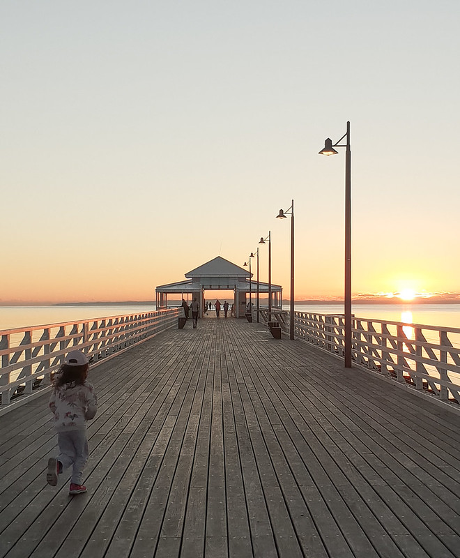 Sunrise @ Shorncliffe Pier