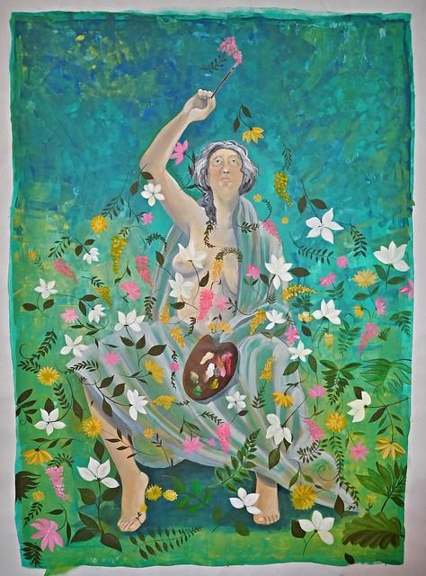 Séraphine de Senlis ( Où vont les fleurs?)