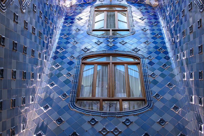Patio interior de Casa Batlló