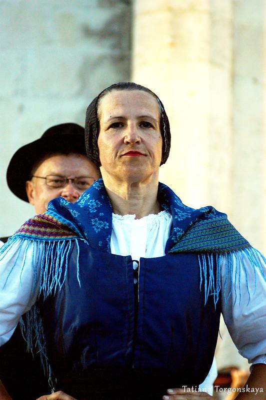 Словенцы во время выступления