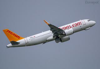 F-WWIX Airbus A320 Neo Pegasus