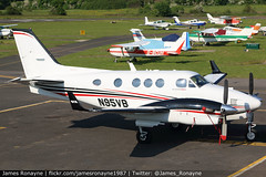 N95VB | Beech C90GTx | Private