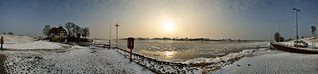 Die Elbe bei Zollenspieker