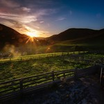 Barrowburn Sunset