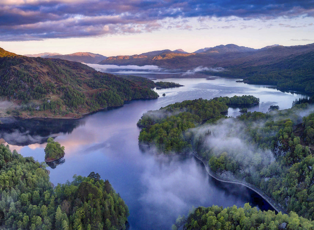 Loch Katrine in the Trossachs of Scotland. Credit John McSporran, flickr